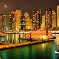 Ночной Дубай 1 :: Андрей Гомонов