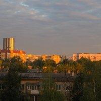 Первые лучи солнца в Мытищах :: Андрей Воробьев