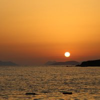 Морской закат. :: Маргарита ( Марта ) Дрожжина