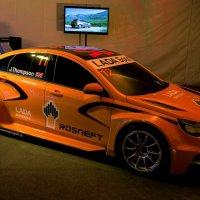 Спортивный концепт LADA Vesta WTCC :: Александр Николаев