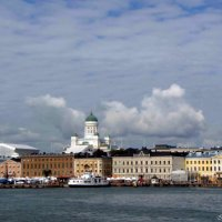 Вид с залива на Хельсинки :: Ирья Раски