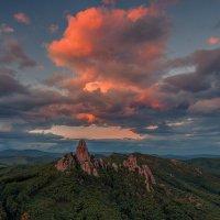Подсветка заходящего солнца :: Эдуард Ефремов