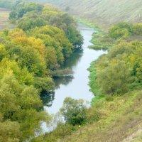 Осенние берега Зуши :: Антонина Балабанова