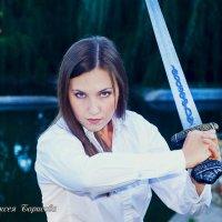 Девушка с мечом. :: Алексей Борисов