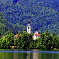Проездом по Словении. Озеро Блед. :: Алексей Беликов