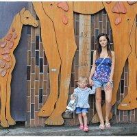 Мы меньшее, чем маленький жирафёнок... :-))) :: Dana Spissiak