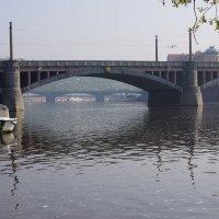 Череда мостов на Влтаве :: Михаил Сбойчаков