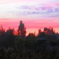 Рассвет в деревне :: Андрей Снегерёв
