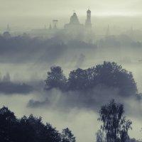 Туманное утро в Подмосковье_2 :: Александр Белоглазов