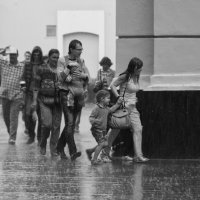 В городе дождь. :: Александр Степовой