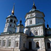 Прогулки по Иркутску. Храм Св.Троицы. :: Rafael