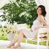 Алина в ожидании доченьки :: Алиса Медведева