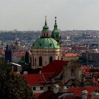 Крыши и купола Праги - 2 :: Елена Даньшина