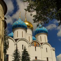 Успенский собор в Лавре :: Елена Мартынова