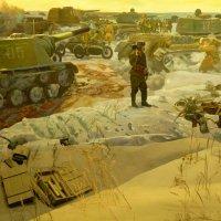 Фрагмент диорамы  «СОЕДИНЕНИЕ ФРОНТОВ. СТАЛИНГРАД» :: Galina Leskova
