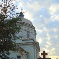 Храм иконы Божией Матери Знамение г. Тихвин :: Сергей Кочнев
