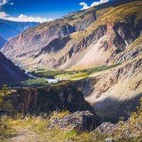 Вид на долину Чулышмана :: Сергей Белявцев
