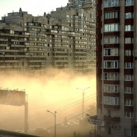 Утро в большом городе :: Владимир Горубин