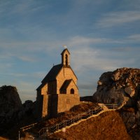 Церквушка на горе Wendelstein :: Артём Мясников