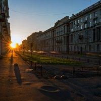Утро города. :: Сергей Костенко
