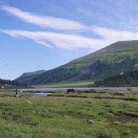 Долина озера Аккем. :: Ирина Нафаня