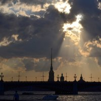 Прогулка по Неве :: Елена Сафонова