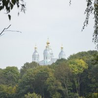 Успенский собор в дымке тумана :: Вика Азарова