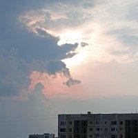 Северодвинск. Небесный мишка :: Владимир Шибинский