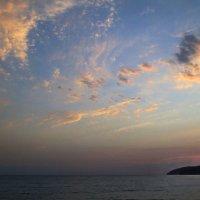 предзакатные облака :: Лидия Юсупова