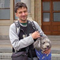 Портрет туриста с верным другом :: Евгений Кривошеев