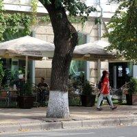 Уличное кафе :: Наталья Лунева