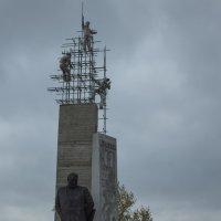 Паметник Наймушину И.И. :: Роман Кондрашин
