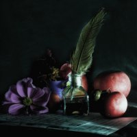 Натюрморт с яблоками :: Денис Матвеев
