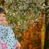 цветочек среди цветов :: Анастасия Валерьева