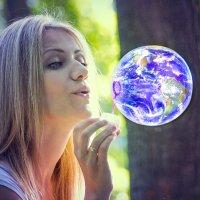 Голубая планета :: Dina Ross