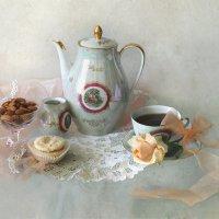 Чай для милой барышни... :: lady-viola2014 -