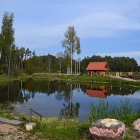 Домик у пруда. :: zoja
