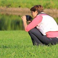 Рыбак рыбака видит издалека.... :: Tatiana Markova
