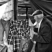 На рынке бельишко старик продавал. Никто за бельишко цены не давал... :: Ирина Данилова