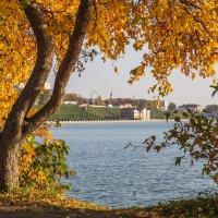 Осень в городе :: Леонид Никитин
