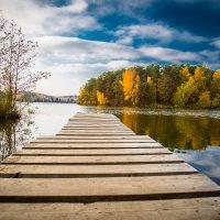 Осень на мостике.... :: игорь козельцев