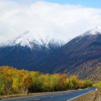 Вулканы на дороге! :: Анастасия Самигуллина
