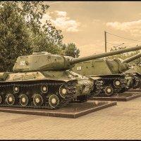 ИС-2 ИСУ-152 БМП :: Юрий Клишин