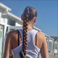Коса до пояса :: Нина Корешкова
