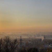 Город в утреннем тумане :: Татьяна Кретова