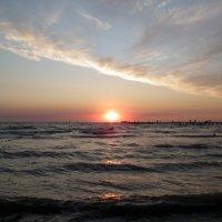 Закат над морем :: Сергей