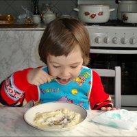 Вкусная манная каша! :: Нина Корешкова