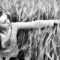 Рукой поглажу спелые колосья :: Ирина Данилова