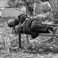 Осенний бомжепад :: Сергей Бекетов