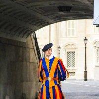 Швейцарская гвардия в Ватикане :: Никита Иванов